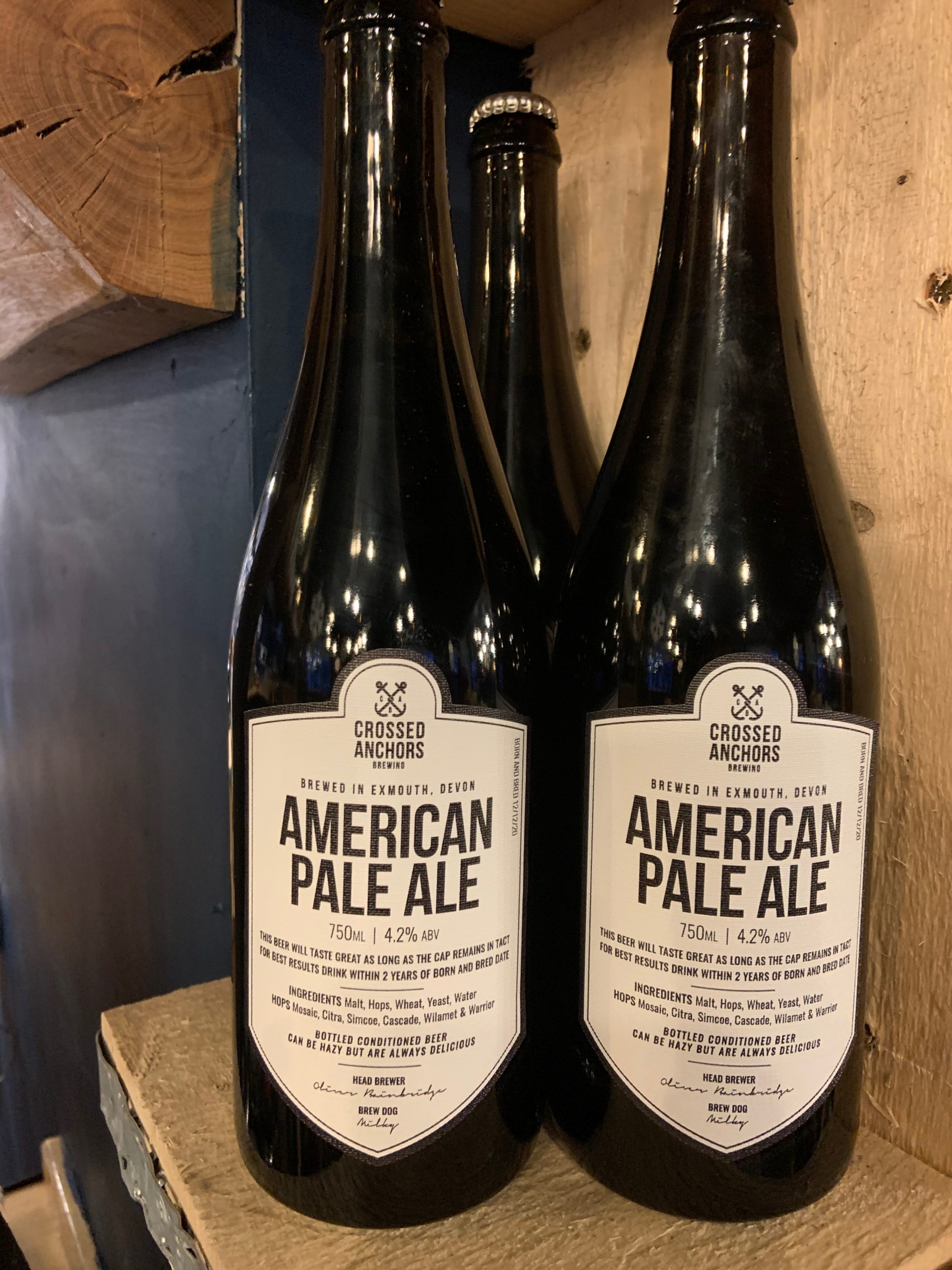 crossed anchors american pale ale